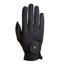 Roeckl Grip Black Unisex Riding Gloves