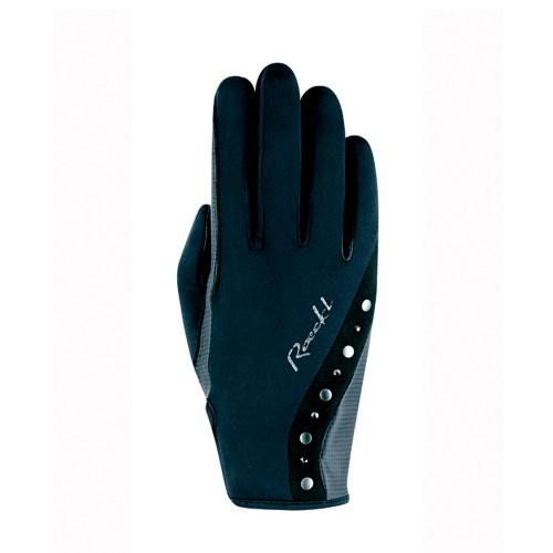 Roeckl Ladies Winter Black Jardy horse riding gloves