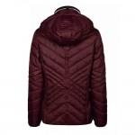 Cavallo Ladies Onna winter quilted jacket - Wild Berry