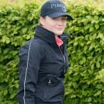 Cavallo Ladies Padee waterproof Functional  Jacket - Dark Blue