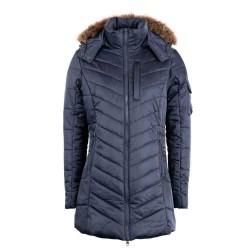 Montar Ladies Lila Navy long Jacket