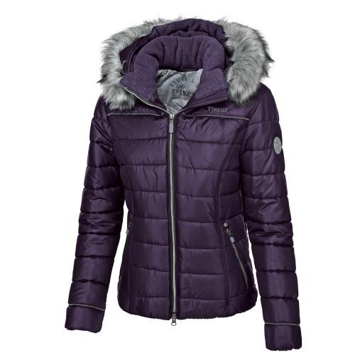 Pikeur Ladies Amal winter quilted jacket - Grape