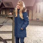 Pikeur Ladies Omira waterproof Parker jacket - Navy