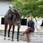 PS of Sweden Ladies Zara Jacket - Deep Sapphire
