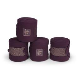 Eskadron Heritage Deep Berry fleece Bandages