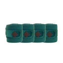 Kentucky horsewear Emerald Velvet Fleece bandages