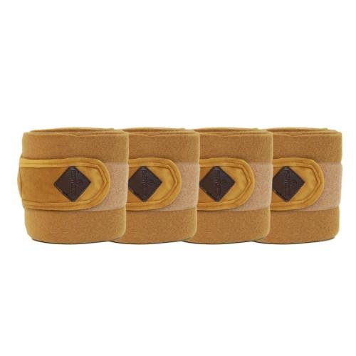 Kentucky horsewear mustard Velvet Fleece bandages