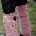 Kentucky horsewear Old Rose Velvet Fleece bandages