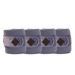 Kentucky horsewear Purple Velvet Fleece bandages