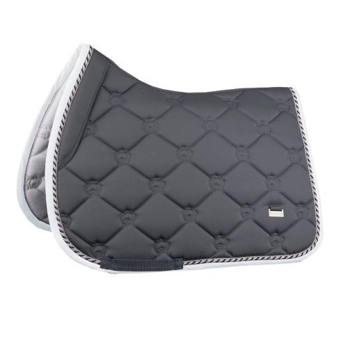 PS of Sweden Charcoal monogram Jump saddle pad
