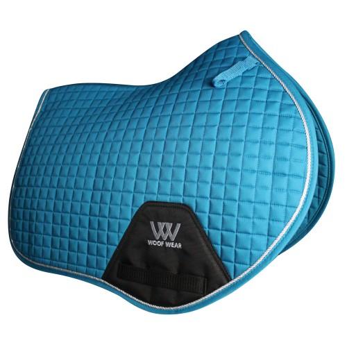 Woofwear Turquoise CC jumping saddle cloth