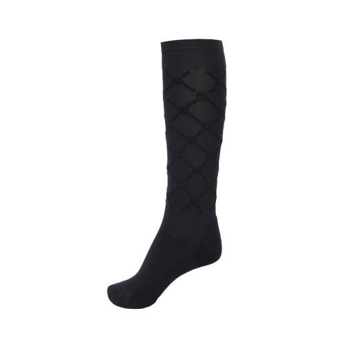 Cavallo Safira Knee high Riding socks - graphite/black